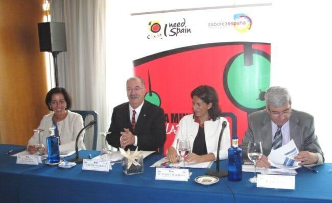"""Presentación del """"Día Mundial de la Tapa"""" en Madrid"""