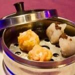 Selección de dumplings, Siu-mai y Dim sum