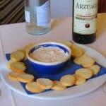 Ajoblanco. Restaurante Cortijo El Sotillo