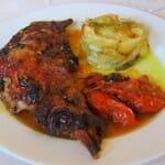 Cabrito. Restaurante Cortijo El Sotillo
