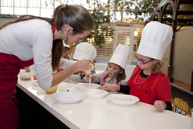 Los niños también tienen un espacio propio en Food & Wine