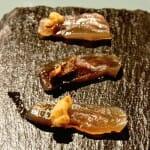 Salazón de pitu de caleya y nuez