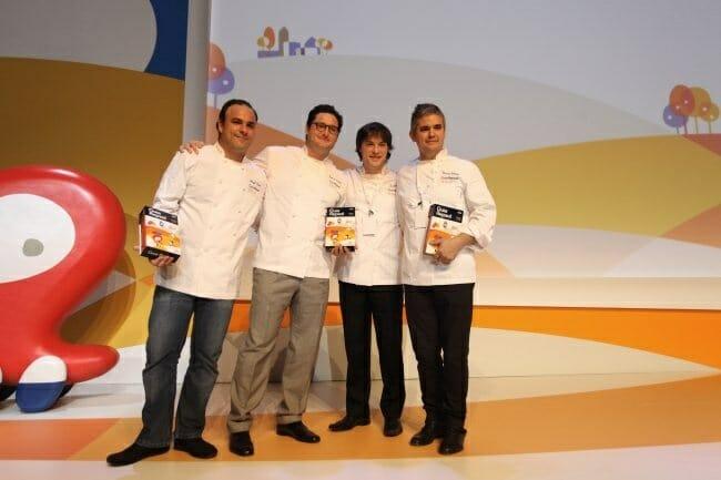 Ángel León, Juan Antonio Medina, Jordi Cruz y Nandu Jubany, los nuevos tres soles