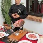Pepe Alba, cortador de jamón