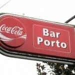 Cartel del bar Porto