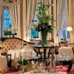 Detalle de la sala del restaurante Goya