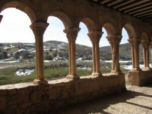 Galería románica. Iglesia de Caracena S.XII