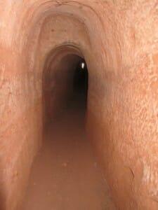 Acueducto subterráneo. Ruinas de Tiermes