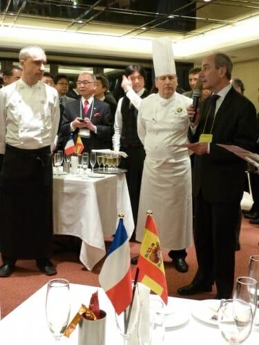 Chefs Josep Barahona (izquierda) y André Pachon (derecha