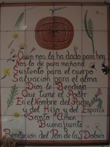El horario de la liturgia