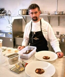 Alexandre Silva, en la cocina de Narcissus