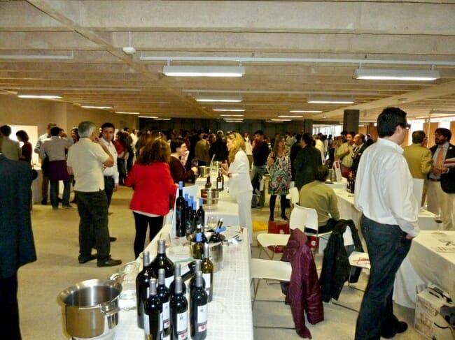 Detalle del XIV Salón de los Vinos de Madrid