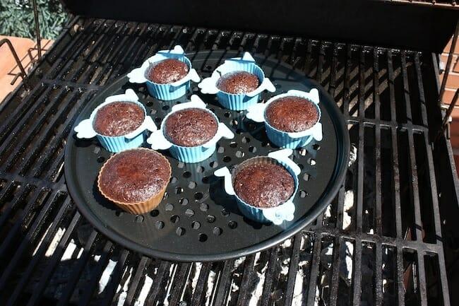 bandeja y moldes para muffins