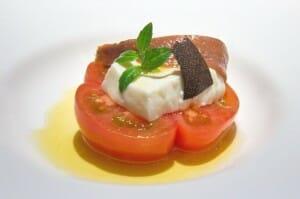 Ensalada de queso de la Jarrilla