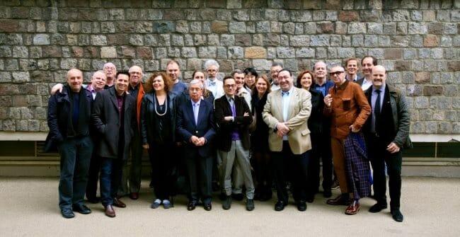 Foto de familia de algunos de los jefes de área o chair men de 50 Best