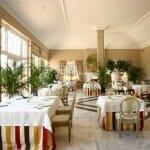 Detalle de la sala del restaurante Tierra