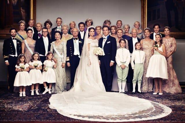 Fotografía oficial de la boda (Imagen: Ewa-Marie Rundquist, The Royal Court)