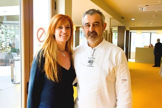 Marisa Sánchez y Juan Pablo Felipe, en La Posada del Chafán