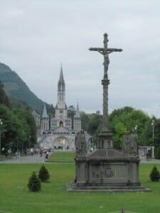 La explanada de Lourdes