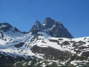Pico Midi d´Ossau. Un antiguo volcán.