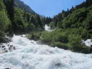 Río en Cauterets