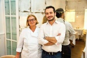 Pilar Pedrosa y Alselmo Fierro, en Villoldo