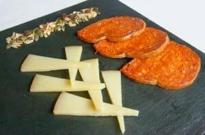Sobrasada Boronat con queso