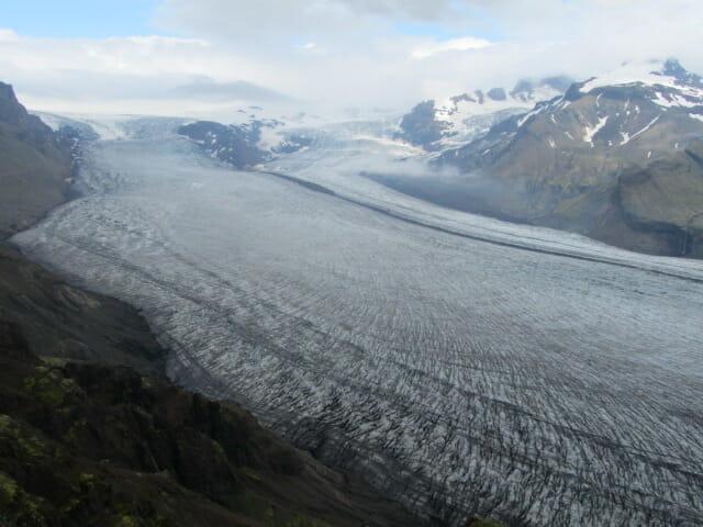 Lengua glaciar