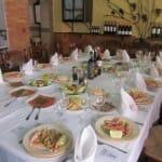 Mesa del restaurante El Puerto