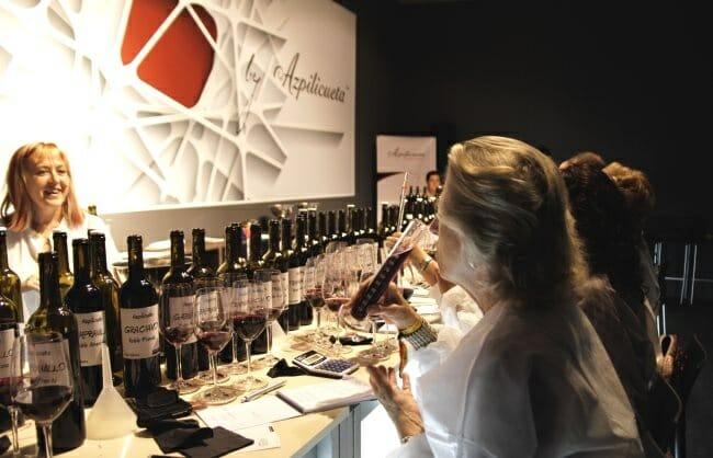 Elena Adell, en el Taller del Vino de Azpilicueta