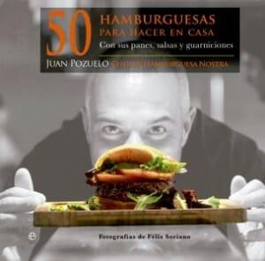 Portada de 50 hamburguesas para hacer en casa