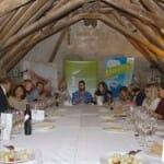 Cena con productos de Degusta Jaén en el Hotel Palacio de Mengíbar