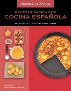 Portada de Recetas basicas de cocina española