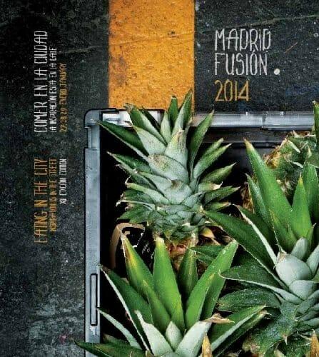 Portada del programa de Madrid Fusión 2014