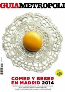 Portada de Guia Metrópoli: comer y beber en Madrid 2014