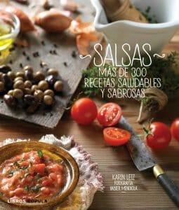 Portada de Salsas: más de 300 recetas saludables y sabrosas
