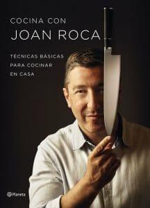 Portada de Cocina con Joan Roca: técnicas básicas para cocinar en casa