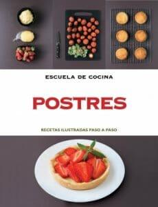 Portada de Postres: recetas ilustradas paso a paso