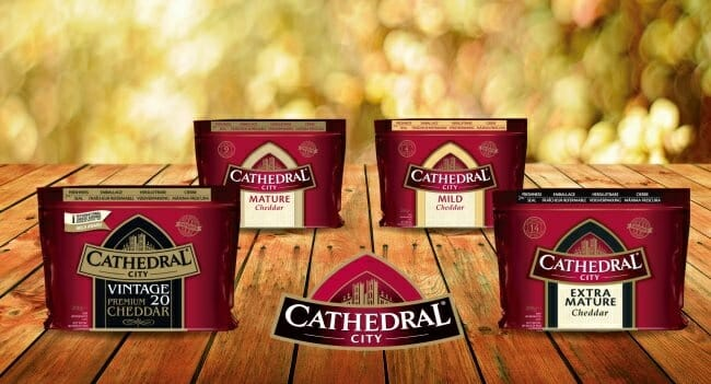 Gama de quesos cheddar de Cathedral City