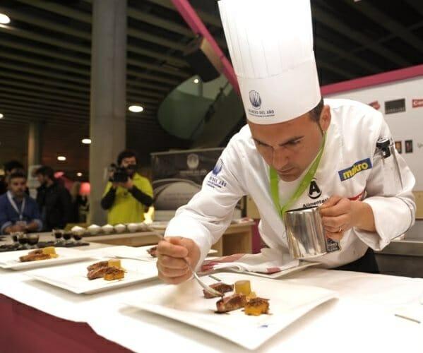 Joaquín Baeza, ganador de la quinta edición del Concurso Cocinero del Año