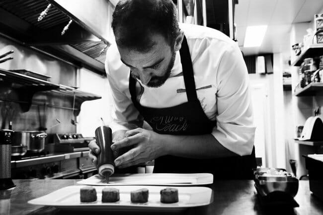 Iñaki Rodaballo, el alma de la cocina de Punk Bach