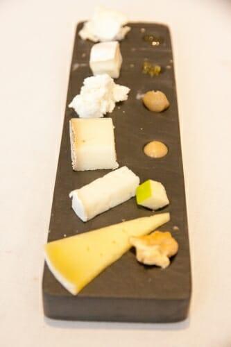 Tabla de quesos de la sierra