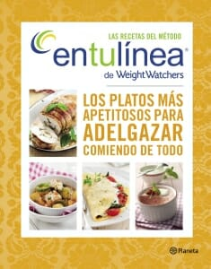 Portada de Las recetas del método entulínea de Weight Watchers