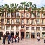 Plaza de la Constitución. Málaga