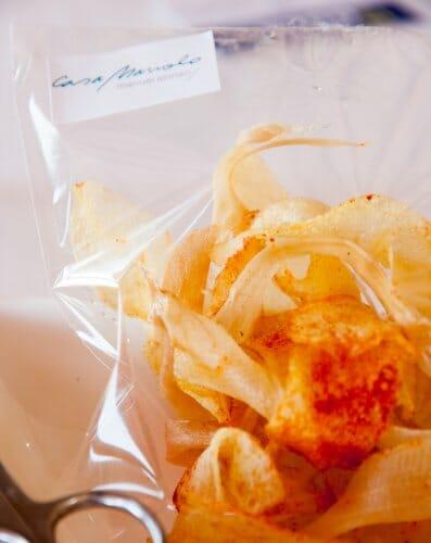 Chips caseras para dar comienzo a los aperitivos