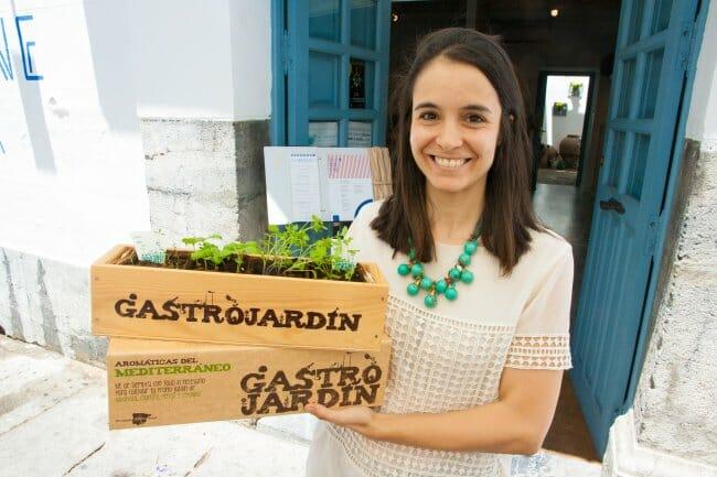 Lola Burón es la creadora de GastroJardín