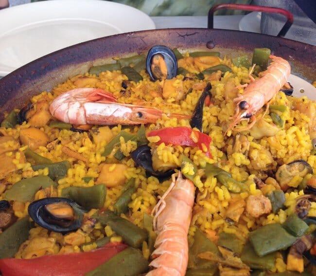 Paella en Marivent (Xeraco)