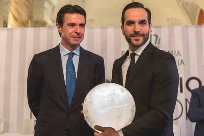 Mario Sandoval, Premio Nacional de Gastronomía al Mejor Jefe de Cocina 2013