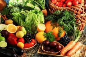 Verduras, hortalizas y frutas frescas son imprescindibles para una buena hidratación y antioxidación