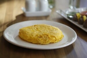 Los huevos son un alimento ideal para la cena